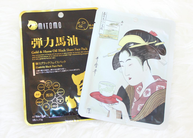 Mitomo-Sheet-Masks-Review