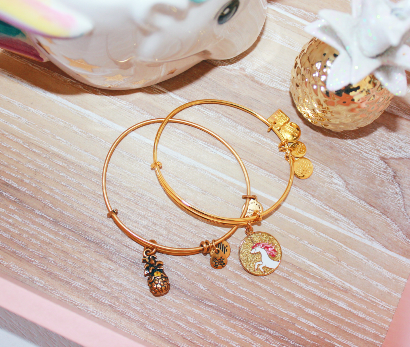 Alex-&-Ani-Unicorn-Pineapple-Charm-Bangle