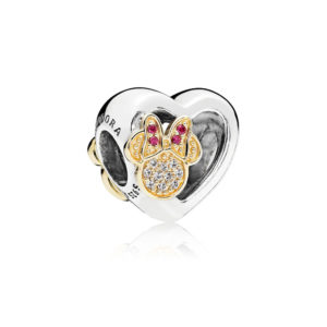 Pandora Disney Charm Mickey & Minnie Love Icons St. Silver