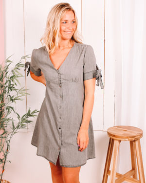 Eyes On You Denim Dress