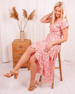 Blaise Boutique Lily Pink Dress