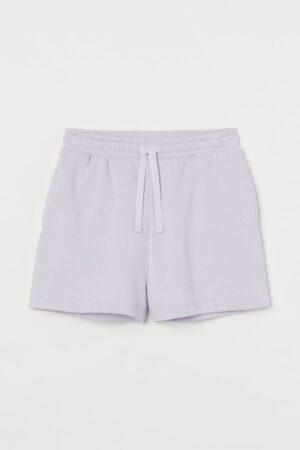 H&M Lilac Sweatshorts