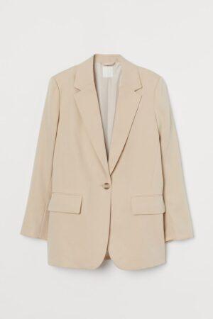 H&M Oversized Cream Blazer